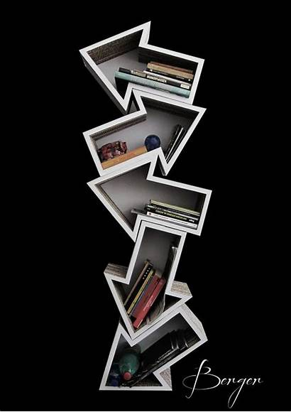 Shelves Arrow Diy Shape Amazing Recycled Things