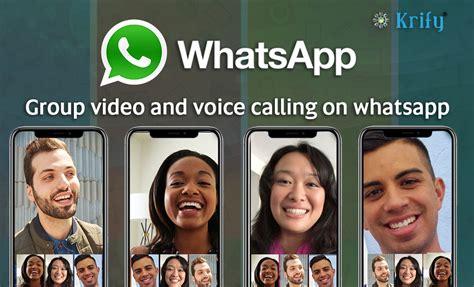 whatsapp calling call calls whats voice app krify varshini