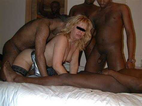 My First Gangbang Amateur Interracial Porn