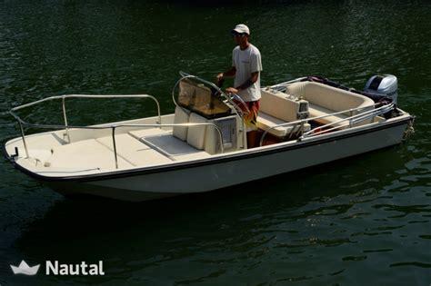 Whaler Motorboat by Motorboat Rent Boston Whaler 17 Montauk In Porto Santo