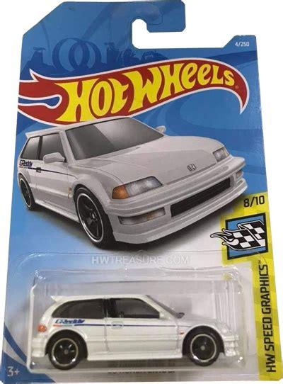 honda civic ef hot wheels  super treasure hunt