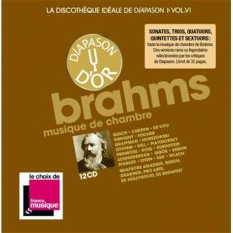 la musique de chambre la discothèque idéale de diapason volume 6 musique de