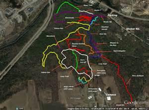Franklin Falls NH Trail Map