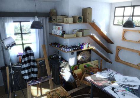 Art Studio Room Ideas  Home Decorating Ideas