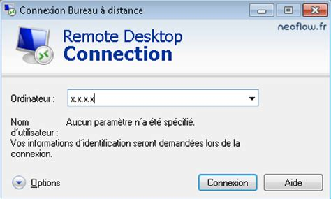 connexion bureau à distance windows 8 paramétrer la connexion au bureau à distance sous windows