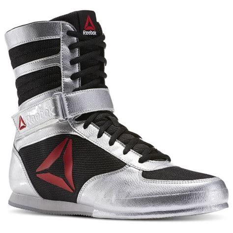 Reebok Boat Shoes by Reebok Boxing Boot Pat Delta Silver Metallic Reebok Mlt
