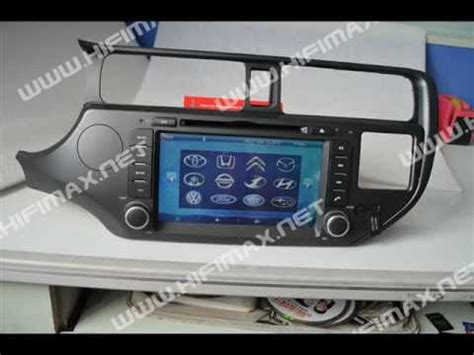 how make cars 2005 kia rio navigation system 8 quot 2 din car dvd gps navigation system for kia rio eu version with bluetooth ipod pip subwoofer