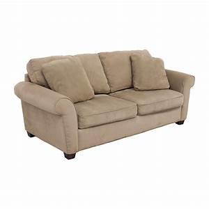 72 off bauhaus bauhaus microfiber tan oversized couch With bauhaus sofa bed