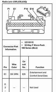 2006 Hummer H3 Radio Wiring Diagram