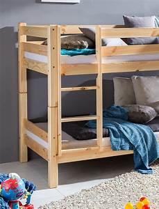 Kinderbett Massivholz 90x200 : etagenbett kilian 90x200 kiefer lackiert massivholz kinderbett bett wohnbereiche schlafzimmer ~ Whattoseeinmadrid.com Haus und Dekorationen