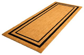 Modern Doormats Outdoor by Decoir Decoir 24 Quot X 60 Quot Classic Border Large Coir