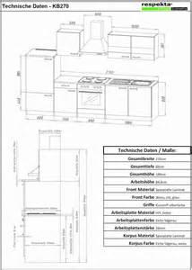 küche höhe arbeitsplatte küchenblock 270 grau eiche lbkb270esg