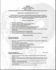 Functional Resume Word Template Aerospace Aviation Resume Occupational Examples Samples