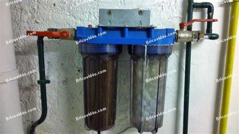 bricovid 233 o forum plomberie comment changer des filtre eau maison
