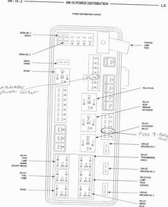 2007 Chrysler Pacifica Fuse Box Diagram