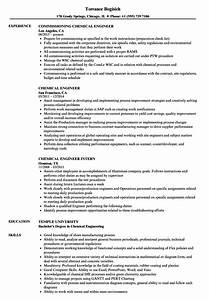 exelent resume chemical engineering photo resume ideas With chemical engineer resume template
