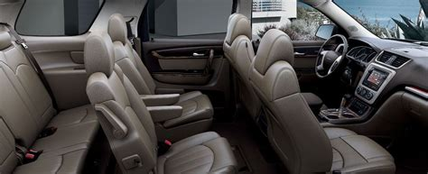 gmc acadia denali crossover vehicle interior