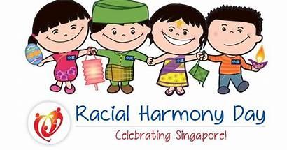 Harmony Racial Singapore Celebrating
