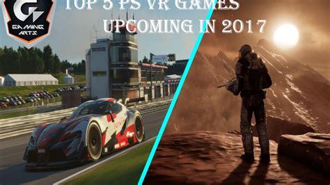 vr games upcoming playstation