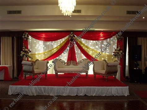 Asian Wedding Stage Decor For Hire Bristol
