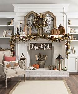 25 Fall Mantel Decorating Ideas - decoratio co