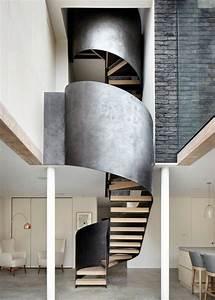 Escalier Colimaçon Beton : rampe d 39 escalier 59 suggestions de style moderne ~ Melissatoandfro.com Idées de Décoration