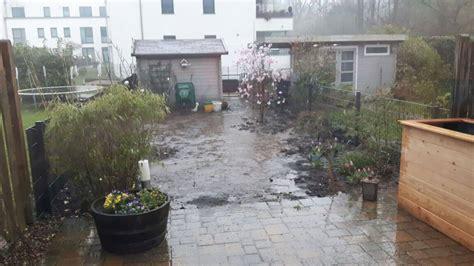 Garten Trockenlegen