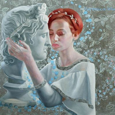 joan  arc veronica winters romantic paintings  women