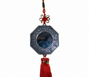 yin yang lucky car mirror tassel 7cm oriental gifts With kitchen cabinets lowes with yin yang candle holder