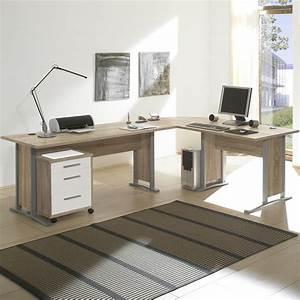 Sonoma Eiche Schreibtisch : winkelschreibtisch office line biz schreibtisch kombination sonoma eiche wei ebay ~ A.2002-acura-tl-radio.info Haus und Dekorationen