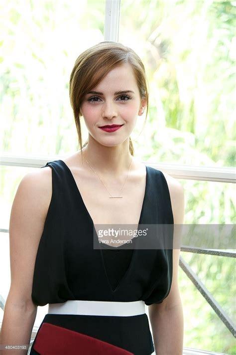 Emma Watson The Noah Press Conference Four