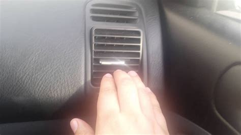 remove ac side vents civic youtube