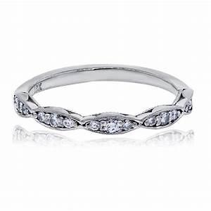 Tacori Engagement Rings Dantela 18k White Gold 17ctw Diamond