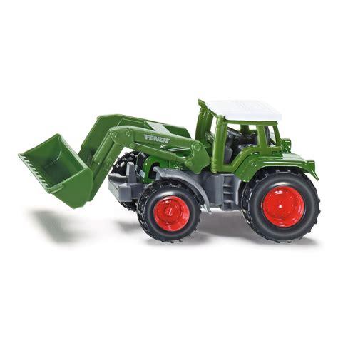 traktor mit frontlader siku fendt traktor mit frontlader 1039