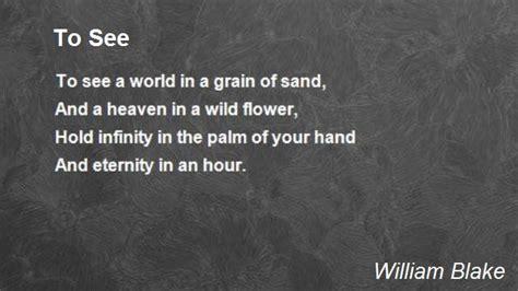 poem  william blake poem hunter