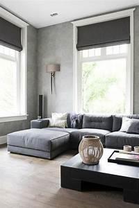 Vorhänge Wohnzimmer Grau : wohnzimmer einrichten graues sofa ~ Sanjose-hotels-ca.com Haus und Dekorationen