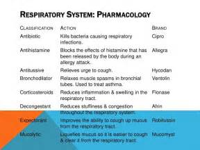 Upper Respiratory System Drugs