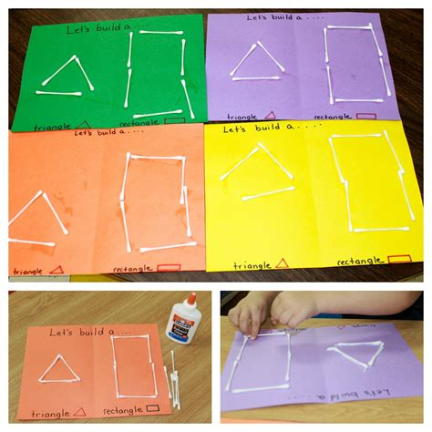 shapes theme preschool activities we also made shapes this was great practice in both 757