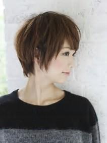 髪型 ショート に対する画像結果