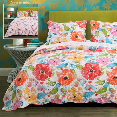 Floral Quilts by Esme Floral Quilt Set By Barefoot Bungalow