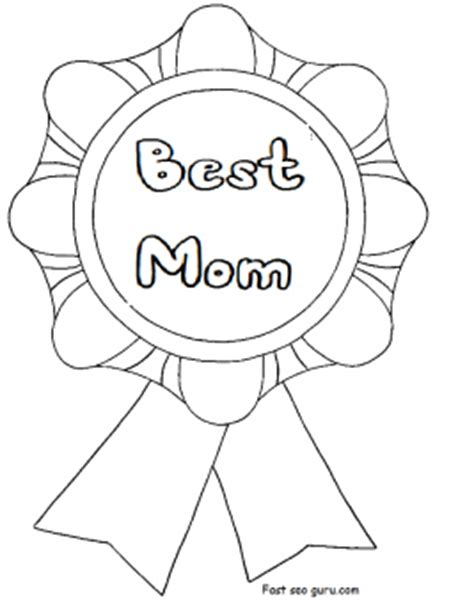 printable  mom mothers day coloring  pages  printable coloring pages  kids