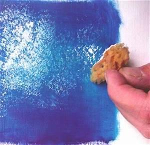 Eponge Pour Peindre : peindre au tampon la peinture l 39 huile l 39 atelier canson ~ Preciouscoupons.com Idées de Décoration
