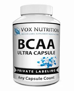 Private Label Bcaa Sports Nutrition Supplement Capsules