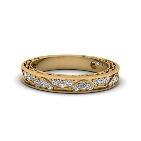 shop our lovely 14k yellow gold womens wedding rings fascinating diamonds
