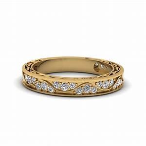 Women S Yellow Gold Diamond Rings Wedding Promise