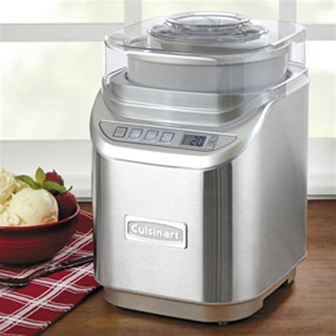 cuisinart ice  electronic ice cream maker review ice