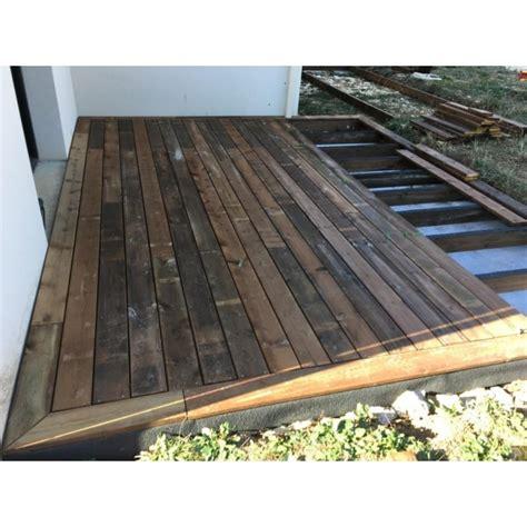 lame terrasse pino bois pin classe 4 27x145 mm choix 1 2
