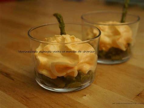 recette avec un siphon de cuisine recettes de chorizo et verrines 2
