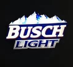 Busch Light in autumnal design can Carl