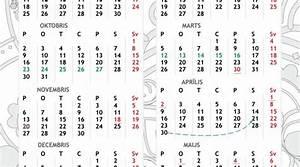 February 2020 Calendar Printable With Holidays Kalendārs 2018 Download 2019 Calendar Printable With